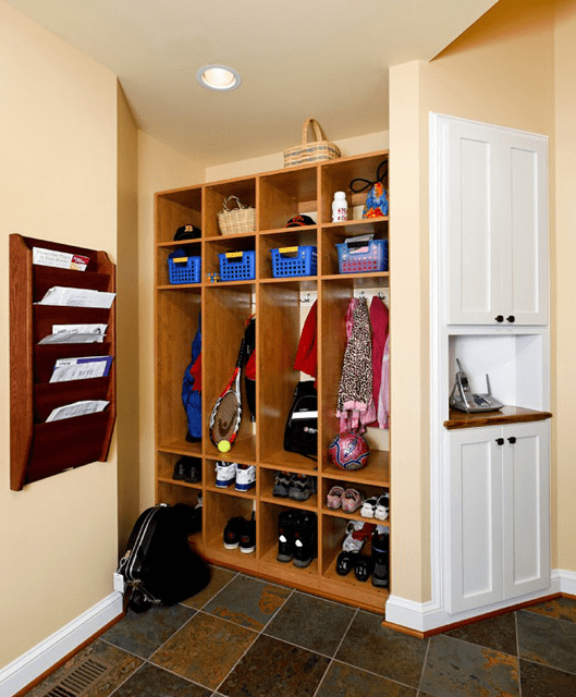 mudroom with a closet
