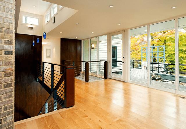 beautifull railings in the house