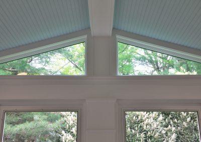 Windowed eaves detail