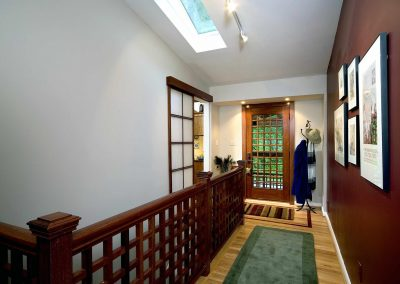 The view of an entryway