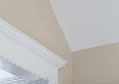 The top of a doorway
