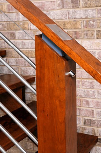 railing close up