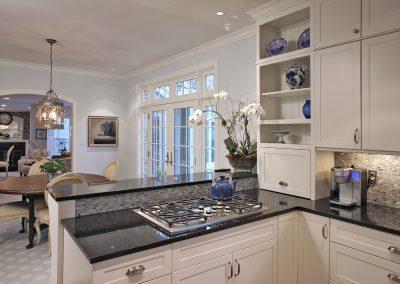 Burner stove on kitchen countertops