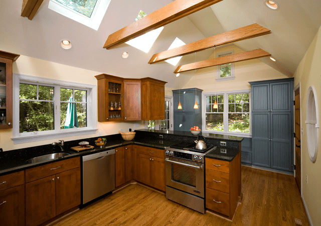 beautiful kitchen after remodeling