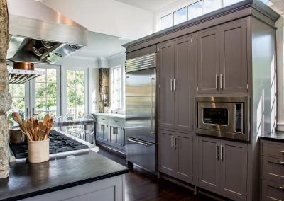 A remodeled rustic kitchen