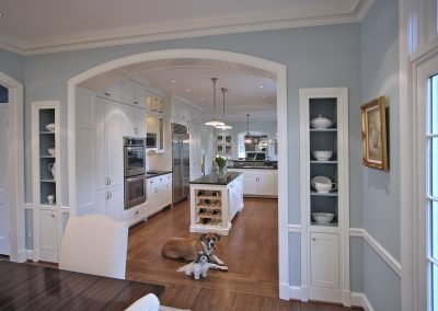 Entrance to kitchen from dining room
