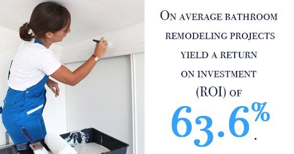 bathroom remodeling statistics