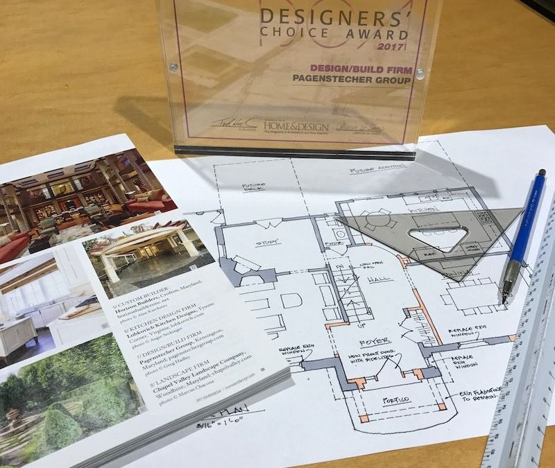 A design award and architectural plans